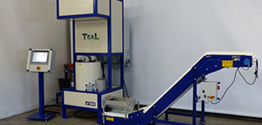 TeaL offers a wide range of treatment machines. TeaL machines are high quality state of the art. Always custom made.